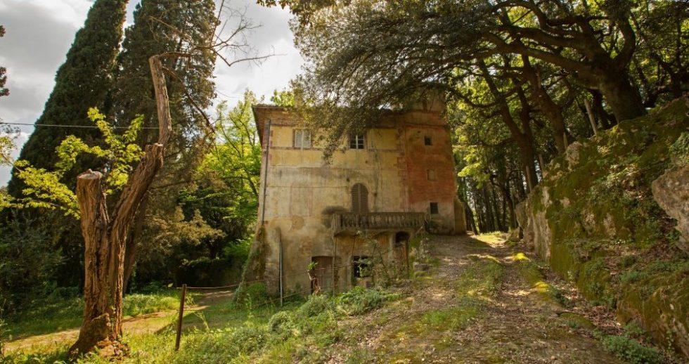 historical hamlet in San Gimignano