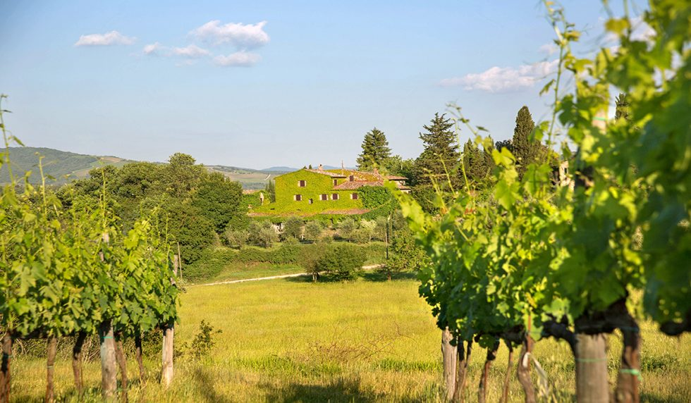 Splendid country house set in the Chianti countryside