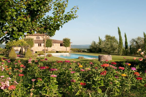 Villa Mirandola – exquisite retreat for rent in Chianti