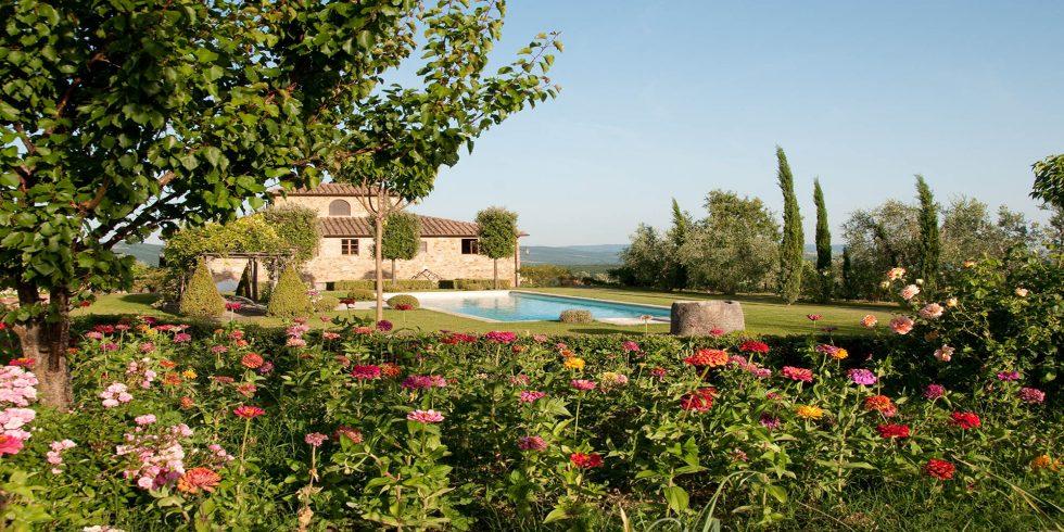 Villa Mirandola – exquisite retreat for rent in Chianti