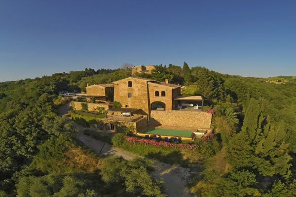 Luxurious villa for rent in Chianti