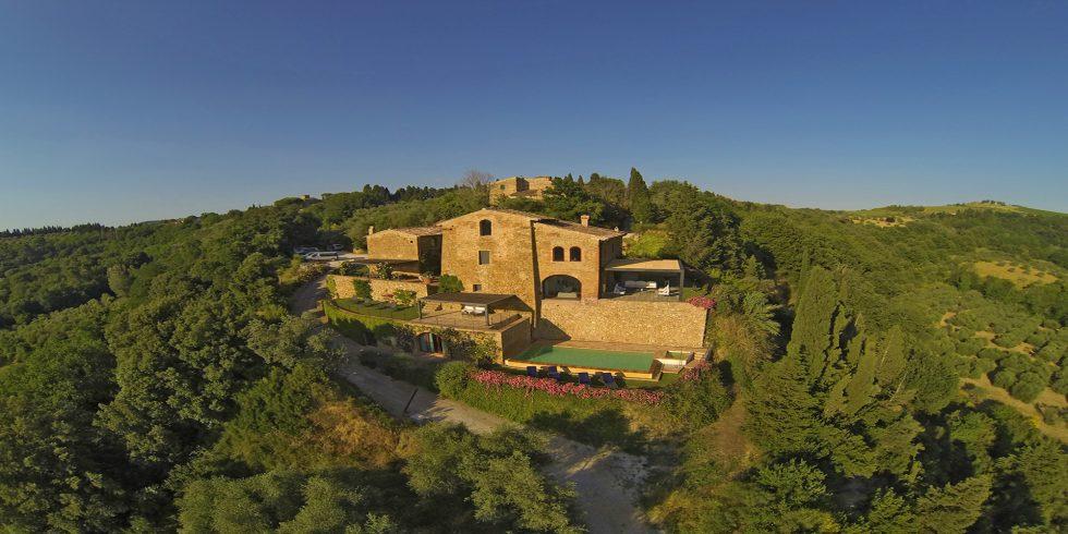 Luxurious villa for rent in Chianti