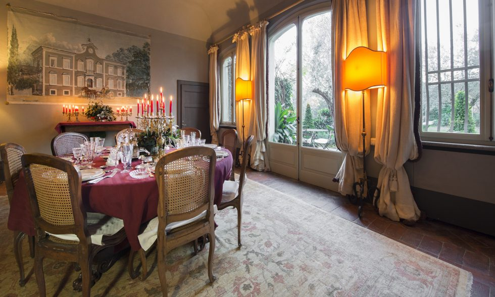 Luxurious historical villa for rent in Pisa