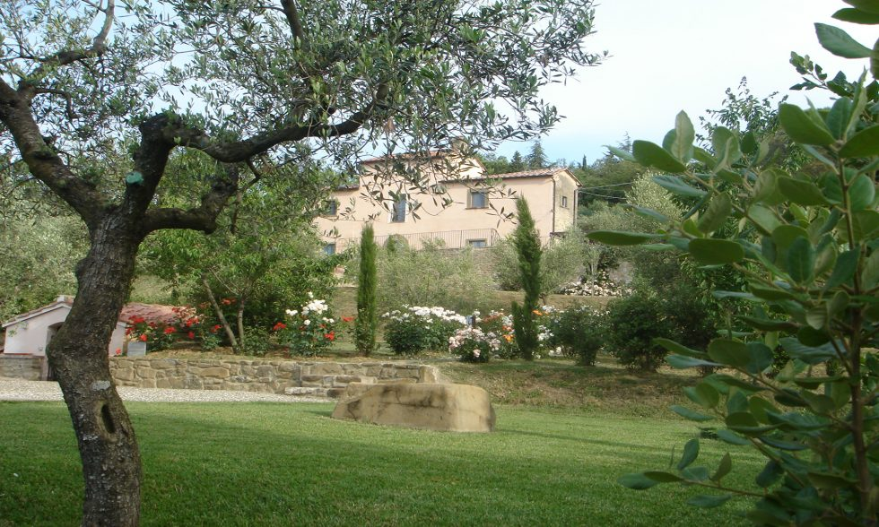 Lovely villa for rent in Cortona