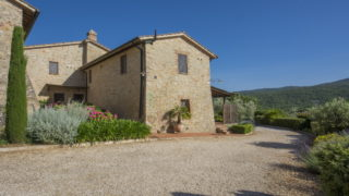 beautiful bed and breakfast for sale near Siena, bed and breakfast for sale in tuscany with two pools